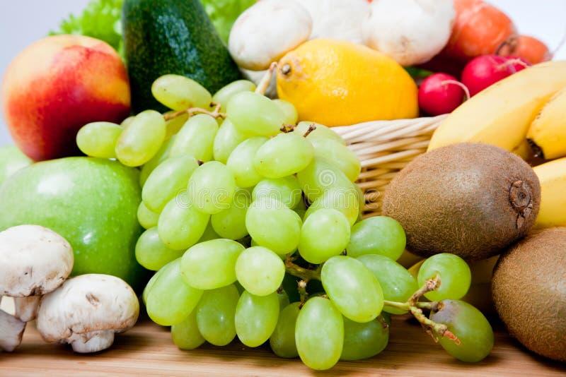 美丽的果菜类 免版税库存照片