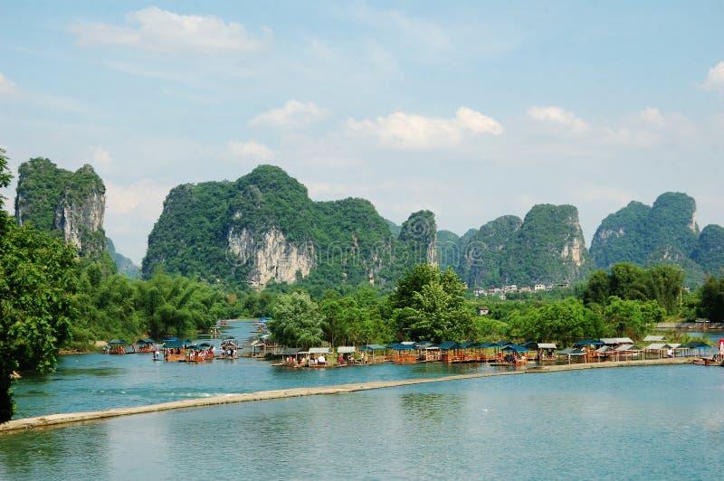美丽的桂林 免版税库存图片