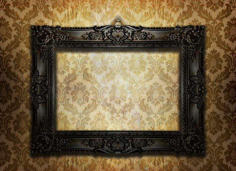 美丽的框架照片 皇族释放例证