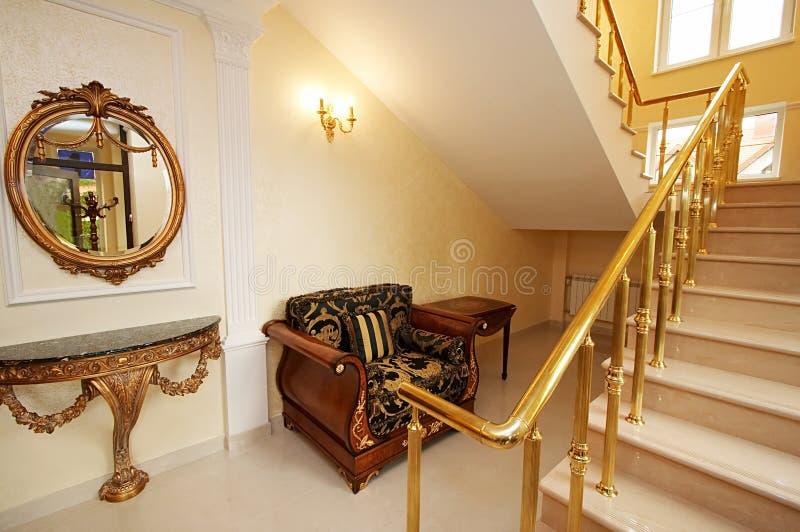 美丽的楼梯 库存图片