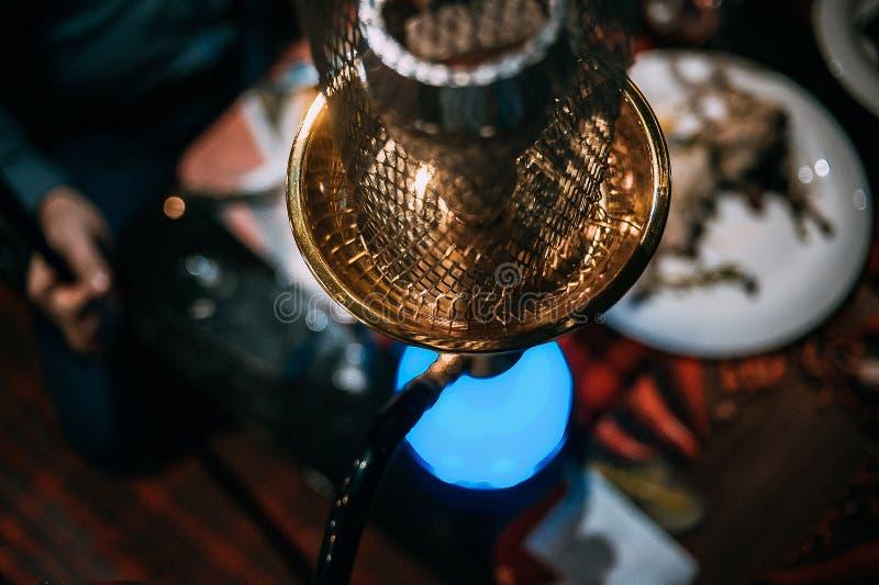 美丽的水烟筒 库存照片