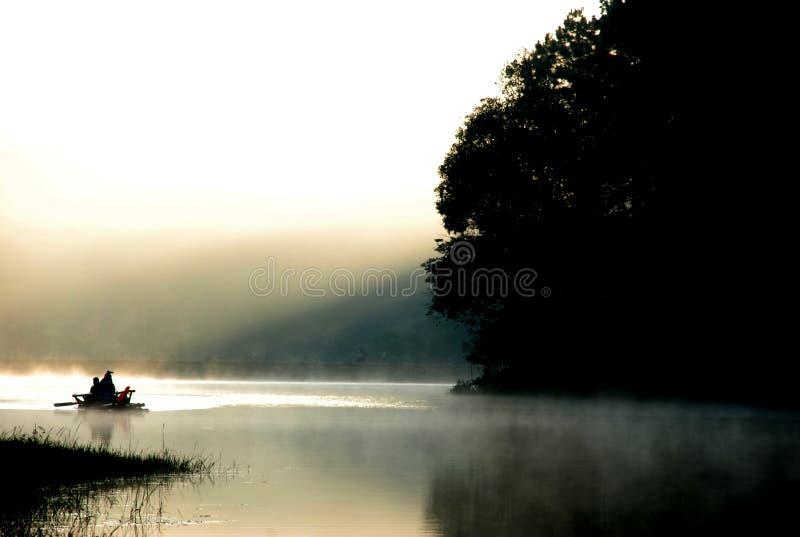 美丽的河 免版税库存图片