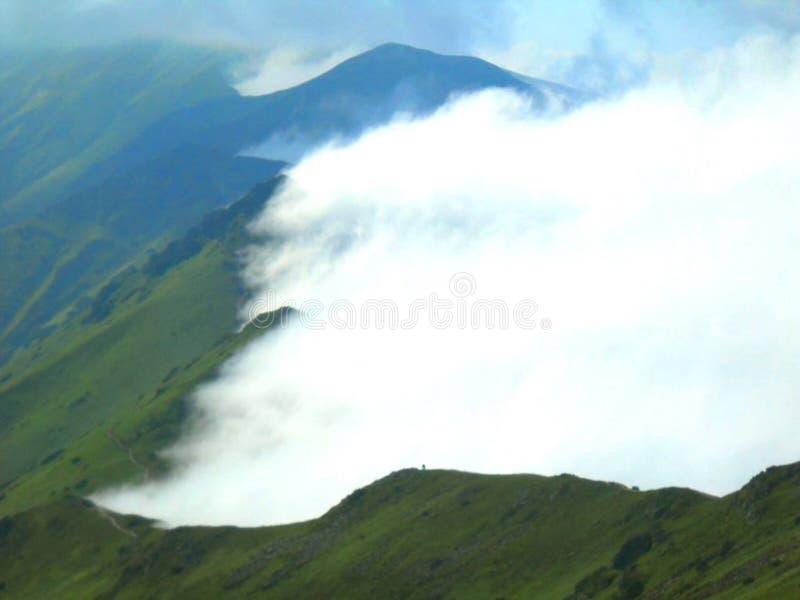 美丽的波兰山Tatry有美丽的景色 库存照片