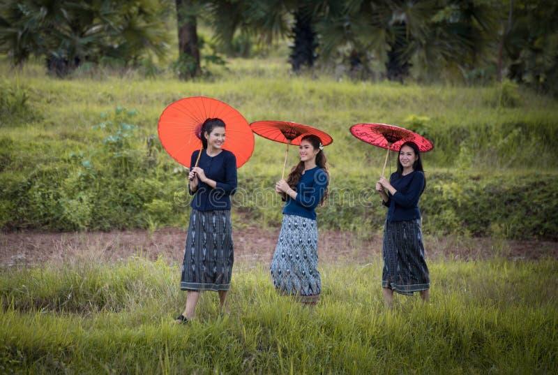 美丽的泰国妇女 库存照片