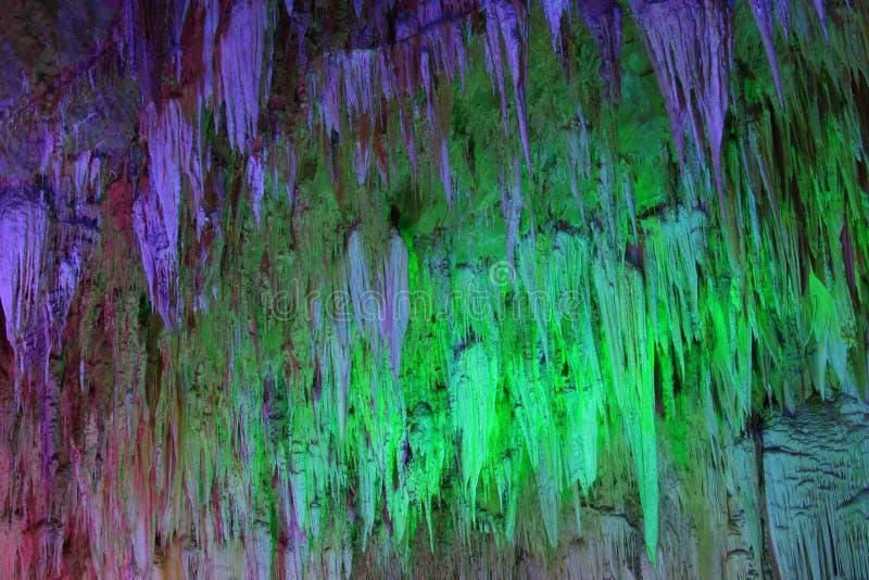 美丽的洞魔术地下 免版税库存图片