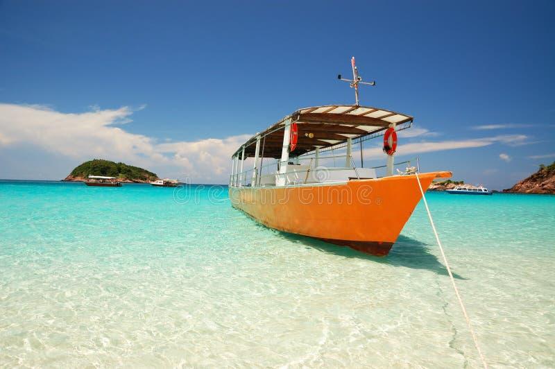 美丽的海岛 图库摄影
