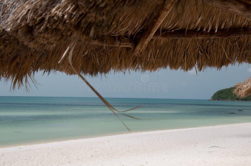 美丽的海滩在越南 免版税图库摄影