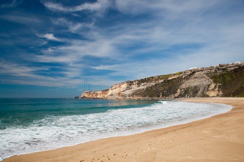 美丽的海滩 图库摄影
