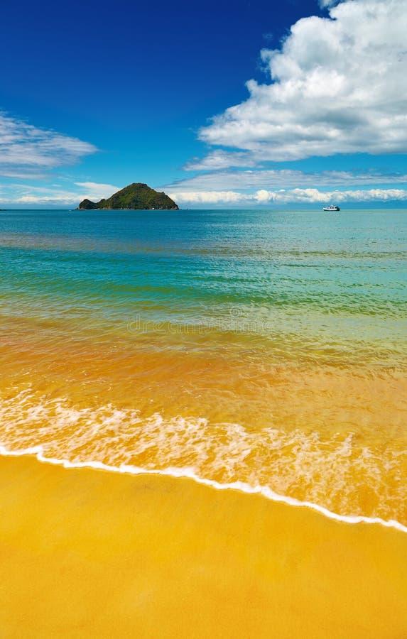 美丽的海滩 免版税图库摄影