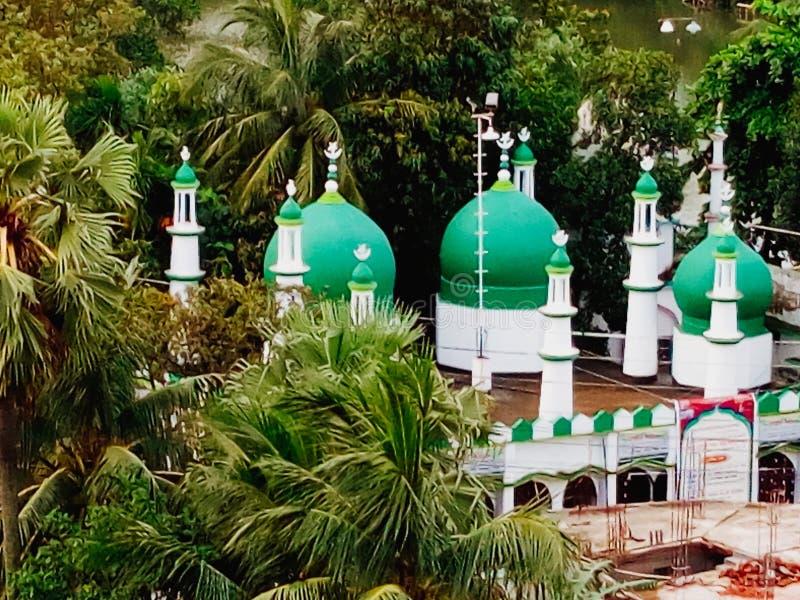 美丽的清真寺 库存照片