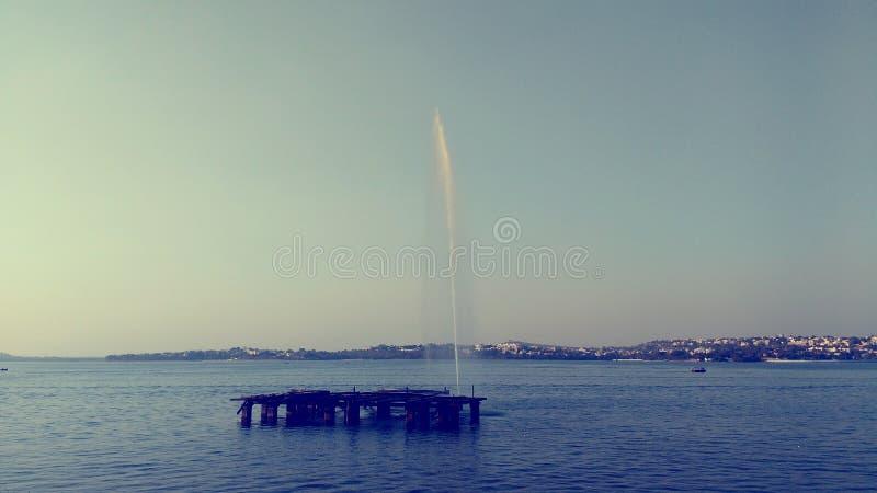 美丽的湖 免版税库存图片