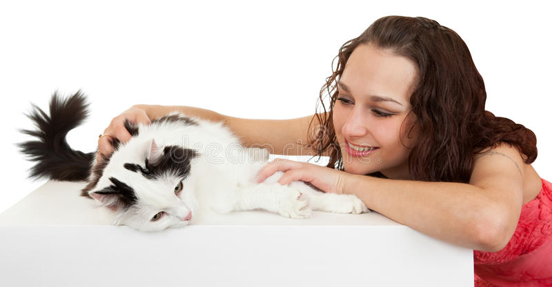Download 美丽的猫通信收藏页女孩 库存图片. 图片 包括有 东部, 情感, 通信, 被攻击的, 观点, 装饰, 女孩 - 15692531