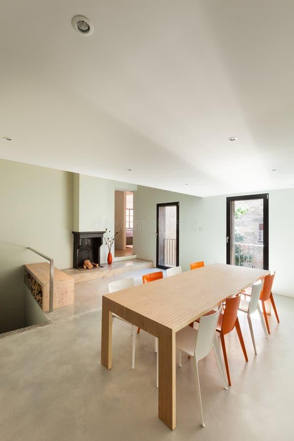 美丽的现代房子 免版税图库摄影