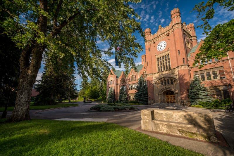 美丽的砖大学政府大楼 库存图片