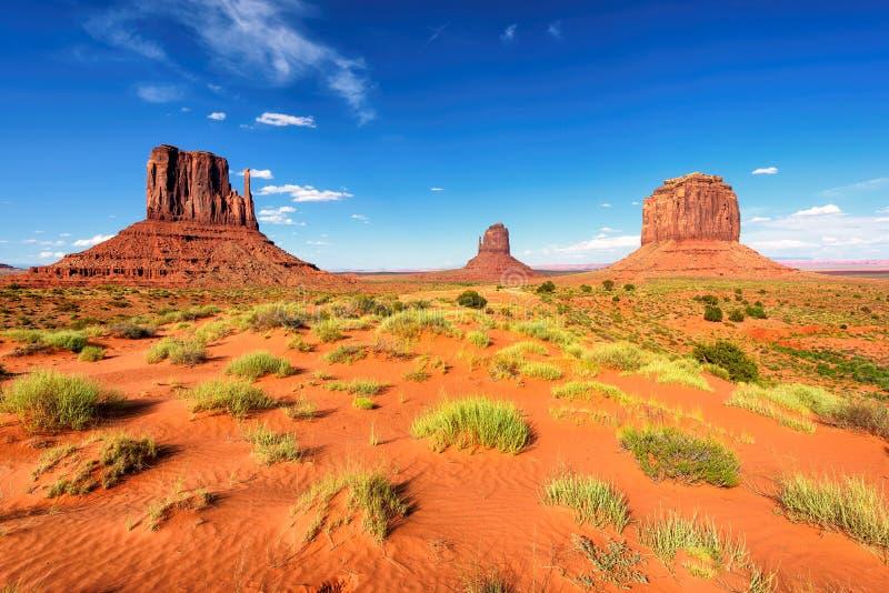 美丽的纪念碑谷,亚利桑那,美国 图库摄影