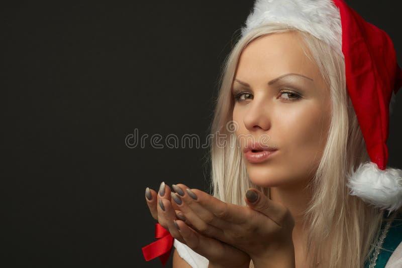 美丽的纵向性感的妇女 库存图片
