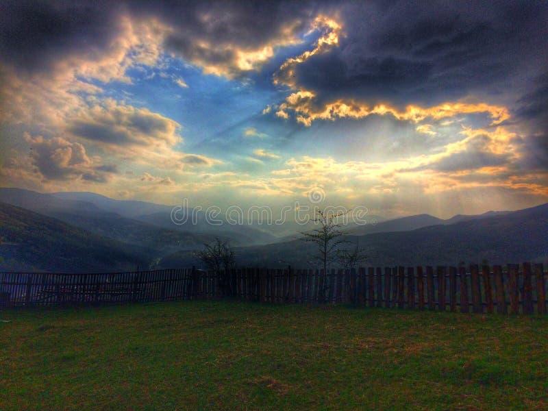 美丽的罗马尼亚! 免版税库存照片