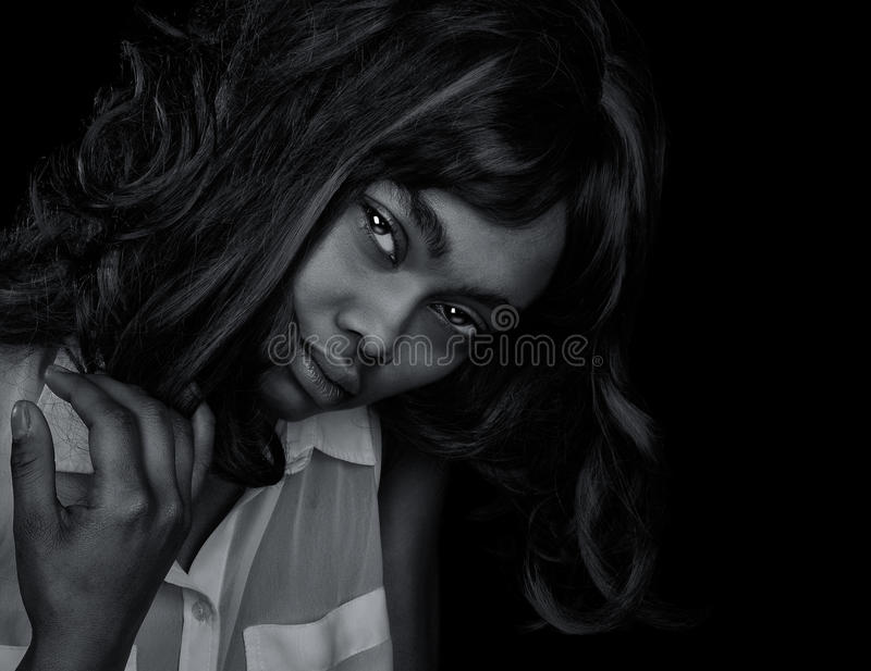 Download 美丽的美国黑人的妇女 库存图片. 图片 包括有 表面, 面部, 成人, 眼睛, beauvoir, 投反对票 - 59107785