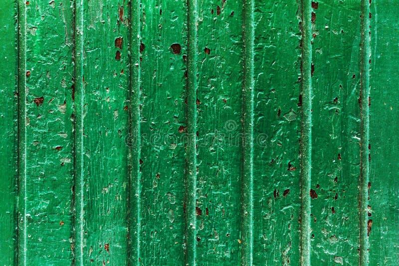 美丽的老古色古香的黑暗的木纹理表面背景Bac 免版税库存照片