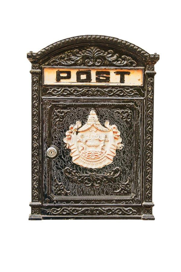 美丽的老邮箱 免版税图库摄影