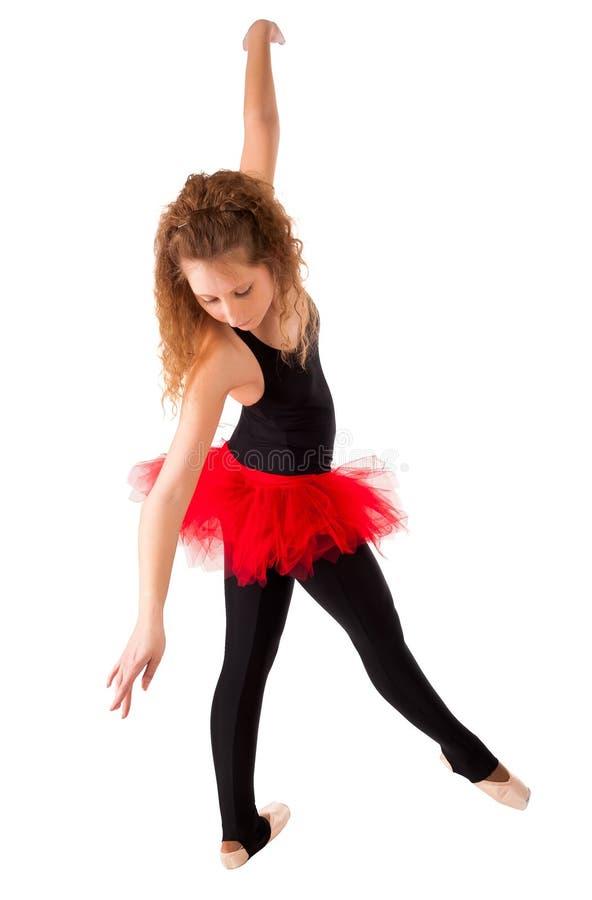 年轻美丽的舞蹈家 图库摄影