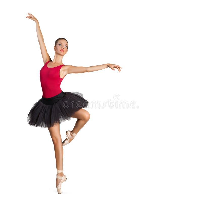 美丽的芭蕾舞女演员 库存图片
