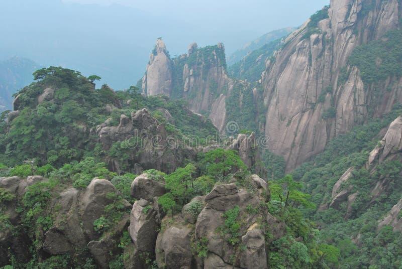 美丽的花岗岩 库存照片