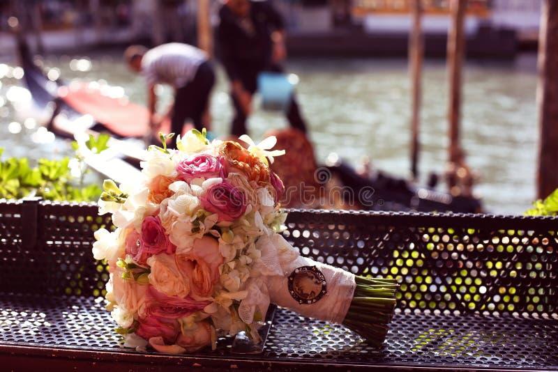 美丽的花束玫瑰 库存图片