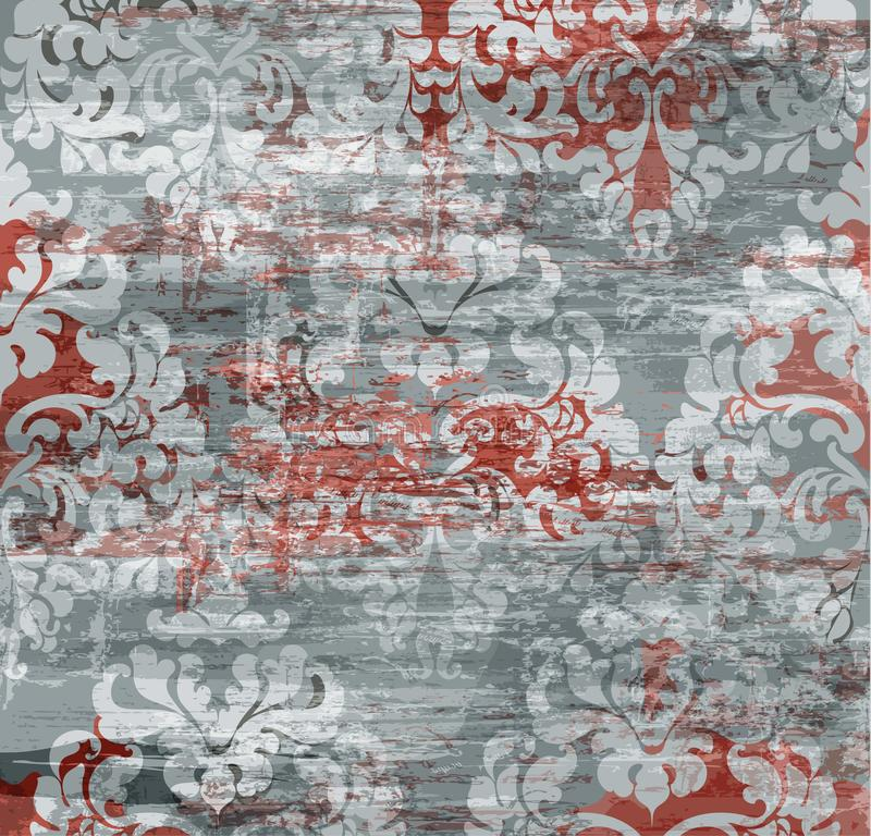 美丽的装饰品装饰 皇家豪华纹理背景  向量例证