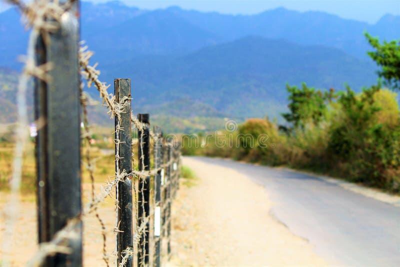美丽的路向卡绍利 库存照片