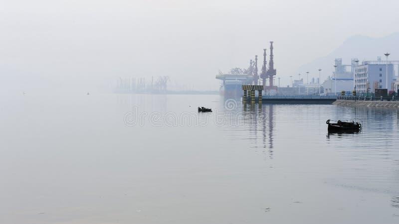 美丽的连云港 库存照片