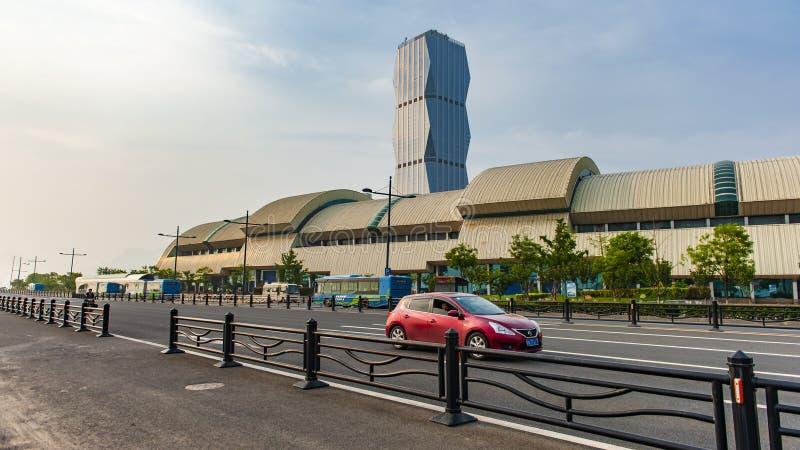 美丽的连云港 免版税库存图片