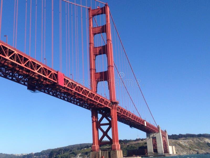 美丽的金门大桥 免版税库存图片