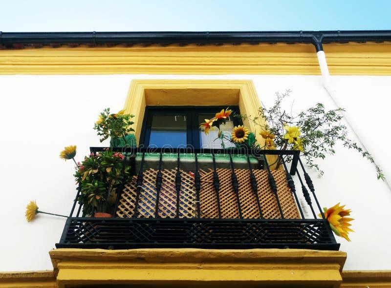 美丽的阳台 免版税库存照片
