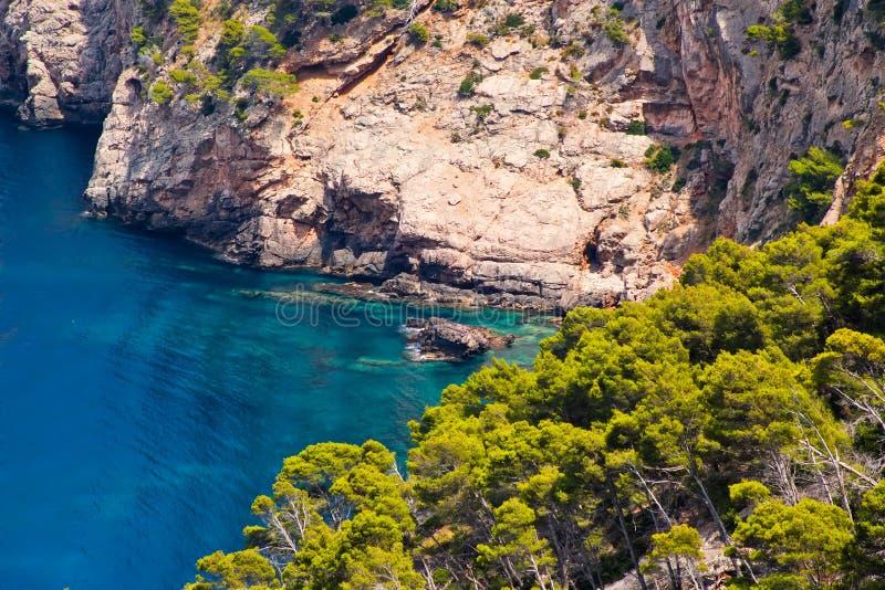 美丽的马略卡海岛 库存图片