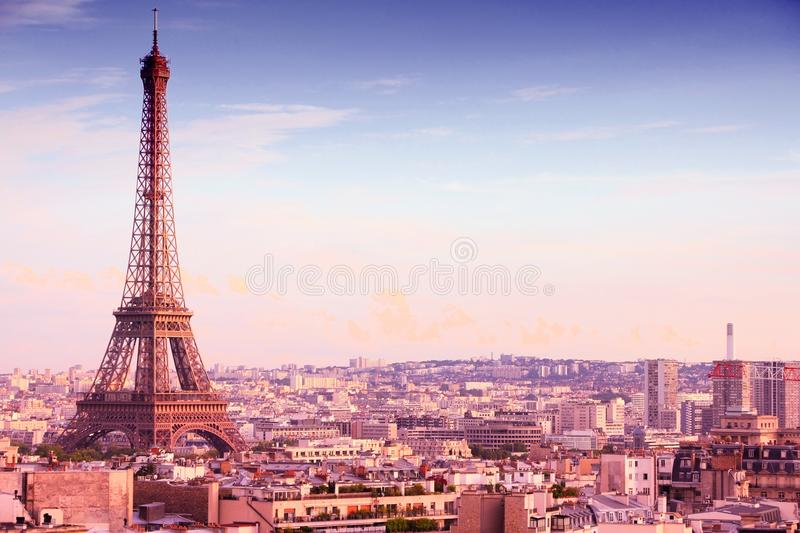 美丽的巴黎 库存照片