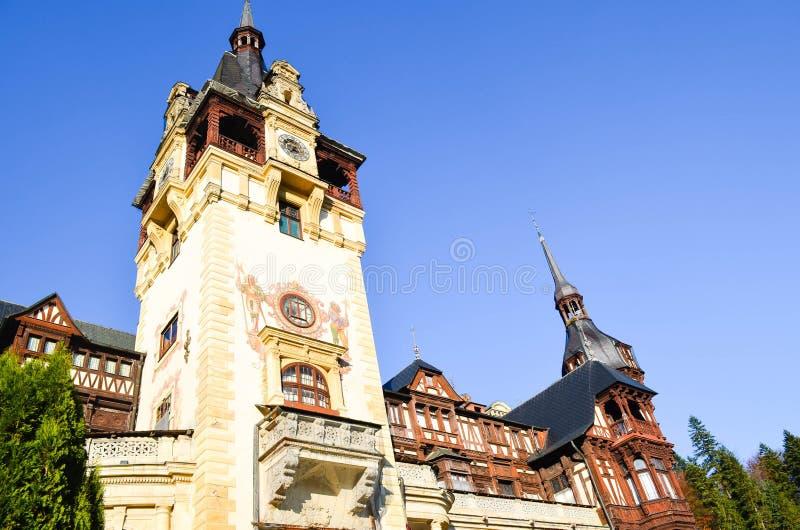 美丽的castel塔 免版税库存照片