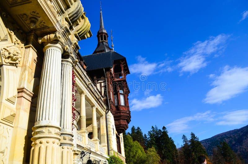 美丽的castel塔 免版税图库摄影