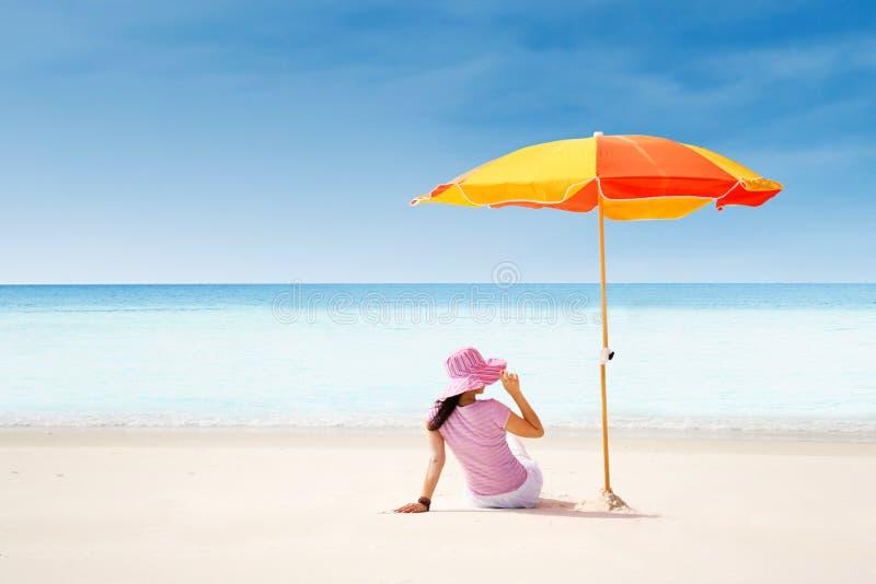 美丽的Whitehaven海滩 免版税图库摄影
