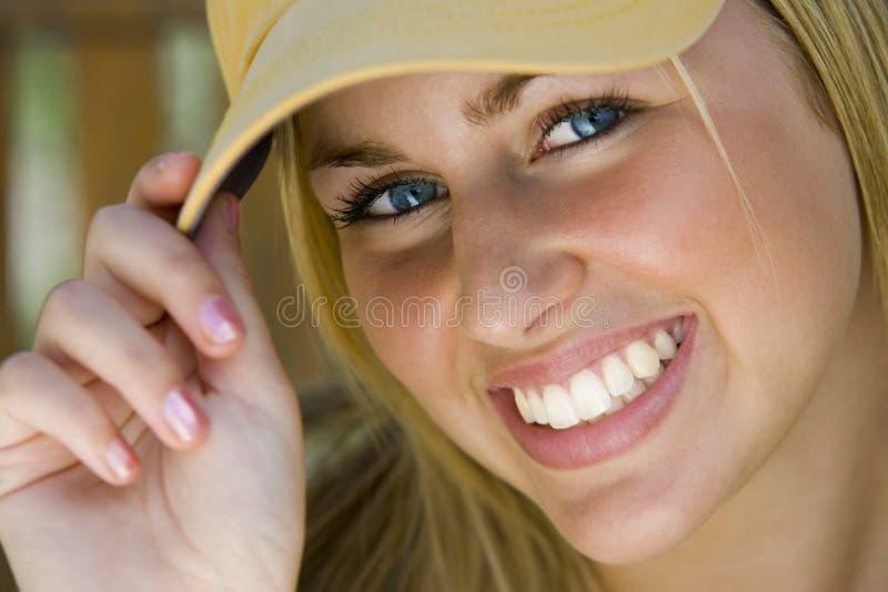 美丽蓝眼睛 免版税库存照片