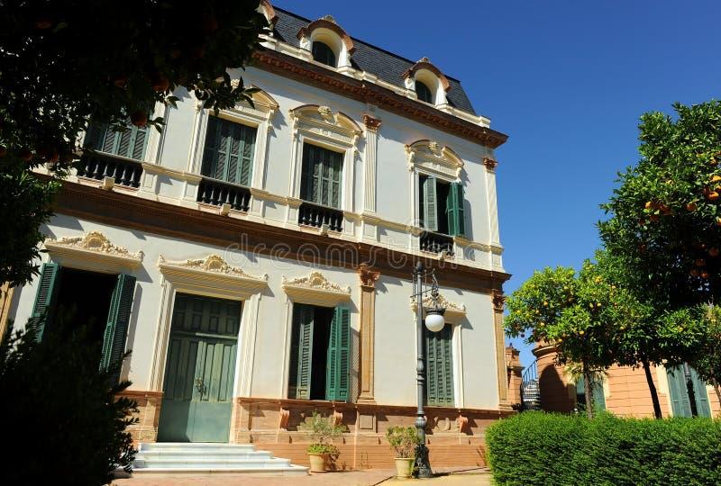 美人鱼议院, Casa de las Sirenas,阿拉米达de赫拉克勒斯,塞维利亚,西班牙 免版税库存图片