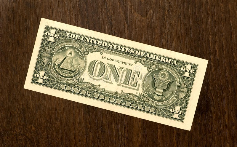美元一 库存图片