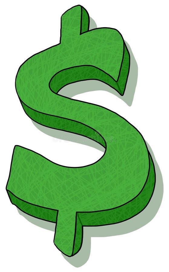 美元例证符号 皇族释放例证