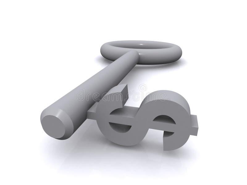 美元关键字 向量例证