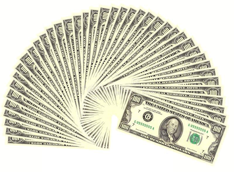 美元四千 免版税图库摄影