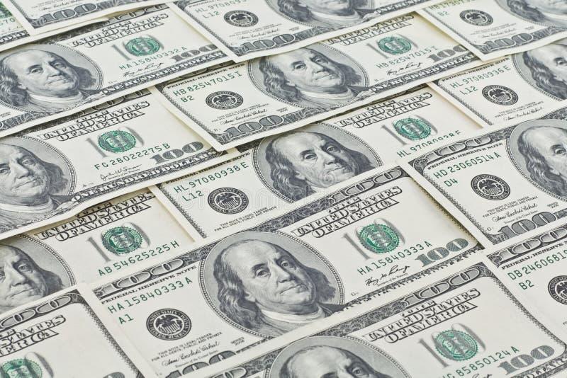 美元墙纸 免版税库存照片