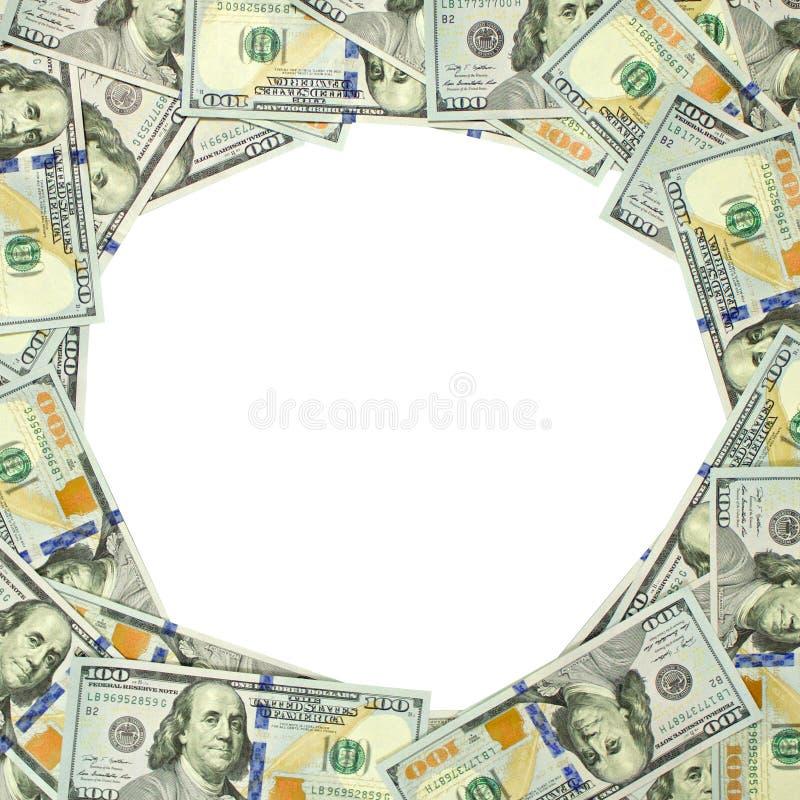 美元小插图1:1 免版税库存照片