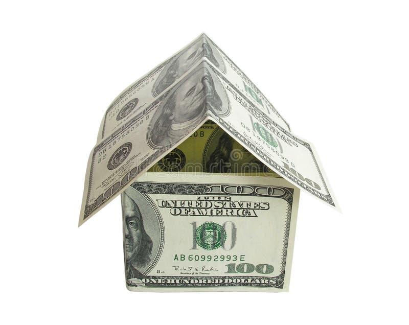 美元房子 库存照片