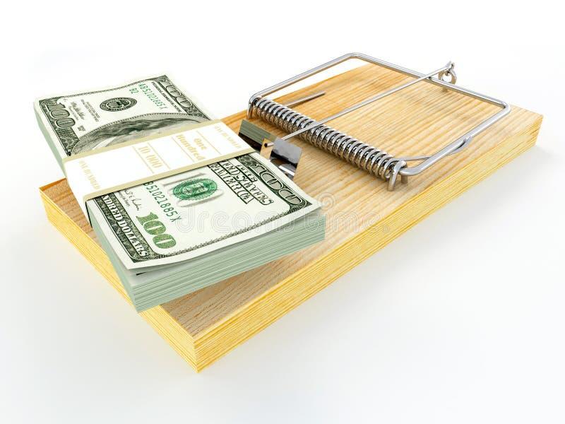 美元捕鼠器 向量例证