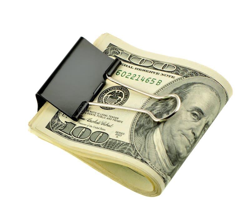 美元查出的装箱 免版税库存照片
